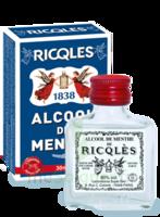 Ricqles 80° Alcool de menthe 30ml à SAINT-PRIEST