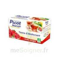 Picot Maman Tisane d'allaitement Fruits rouges 20 Sachets à SAINT-PRIEST