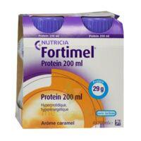 Fortimel Protein Nutriment caramel 4 Bouteilles/200ml à SAINT-PRIEST