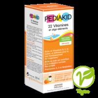 Pédiakid 22 Vitamines Et Oligo-eléments Sirop Abricot Orange 125ml à SAINT-PRIEST