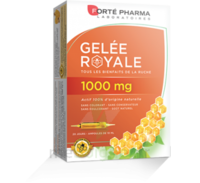 Forte Pharma Gelée royale 1000 mg Solution buvable 20 Ampoules/10ml à SAINT-PRIEST