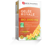 Forte Pharma Gelée royale bio 2000 mg Solution buvable 20 Ampoules/15ml à SAINT-PRIEST