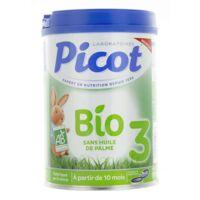 Picot Bio 3 Lait en poudre 800g à SAINT-PRIEST