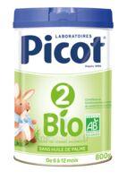 Picot 2 Bio Lait en poudre 800g à SAINT-PRIEST