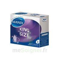 Manix King Size Préservatif avec réservoir lubrifié confort B/3 à SAINT-PRIEST