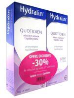 Hydralin Quotidien Gel lavant usage intime 2*200ml à SAINT-PRIEST