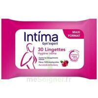 Intima Gyn'expert Lingettes Cranberry Paquet/30 à SAINT-PRIEST