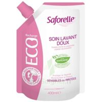 Saforelle Solution soin lavant doux Eco-recharge/400ml à SAINT-PRIEST