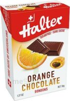 Halter Bonbon Sans Sucre Orange Fourré Chocolat B/36g à SAINT-PRIEST