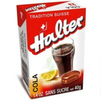Halter Bonbon sans sucre Cola B/40g à SAINT-PRIEST