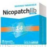 Nicopatchlib 14 Mg/24 H Dispositifs Transdermiques B/28 à SAINT-PRIEST