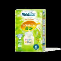 Modilac Céréales Farine 5 Céréales bio à partir de 6 mois B/230g à SAINT-PRIEST