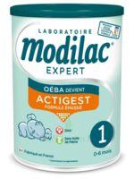Modilac Expert Actigest 1 Lait poudre B/800g à SAINT-PRIEST
