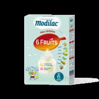 Modilac Céréales Farine 6 Fruits à partir de 8 mois B/300g à SAINT-PRIEST