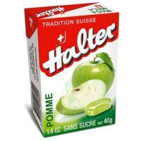 Halter sans sucre Bonbon pomme B/40g