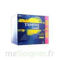 Tampax Compak - Tampon Régulier à SAINT-PRIEST