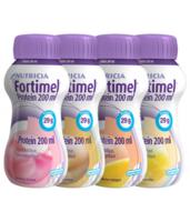 Fortimel Protein Nutriment multi saveurs caramel/vanille/fraise/mangue 4 Bouteilles/200ml à SAINT-PRIEST