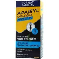 Apaisyl Anti-poux Xpress 15' Lotion antipoux et lente 100ml+peigne à SAINT-PRIEST