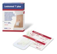 Leukomed T Plus Pansement adhésif stérile avec compresse transparent 8x10cm B/5 à SAINT-PRIEST