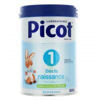 Picot Standard 1 Lait Poudre B/800g à SAINT-PRIEST
