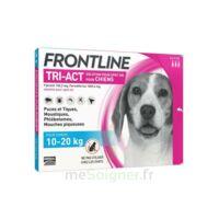 Frontline Tri-act Solution Pour Spot-on Chien 10-20kg 3pipettes/2ml à SAINT-PRIEST