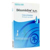 Desomedine 0,1 % Collyre Sol 10fl/0,6ml à SAINT-PRIEST