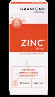 Granions Zinc 15mg Gélules B/60 à SAINT-PRIEST