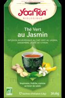 Yogi Tea Thé Vert Jasmin Bio 17 Sachets/1,8g à SAINT-PRIEST