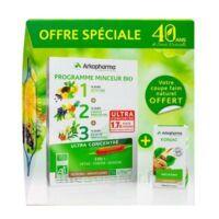 Arkofluides Programme Minceur Bio 30 ampoules/10ml + Arkogélules Konjac B/45 Offre spéciale 40 ans de santé naturelle à SAINT-PRIEST