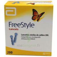 Freestyle Lancets Lancettes Stériles De Calibre 28g B/200 à SAINT-PRIEST