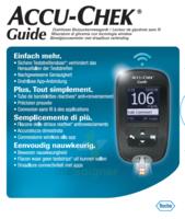 Accu-chek Guide Lecteur De Glycémie Mg/dl (seul) à SAINT-PRIEST