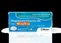 Magnesium/vitamine B6 Mylan 48 Mg/5 Mg, Comprimé Pelliculé à SAINT-PRIEST