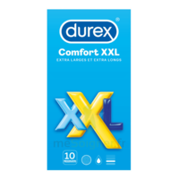 Durex Comfort Xxl Préservatif Lubrifié B/10 à SAINT-PRIEST