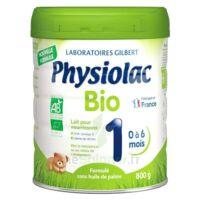 Physiolac Bio 1 Lait En Poudre B/800g à SAINT-PRIEST