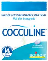 Boiron Cocculine Comprimés Orodispersibles B/40 à SAINT-PRIEST